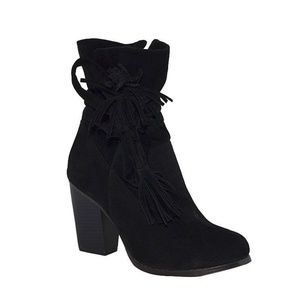 Chase & Chloe Black Lindy Boots